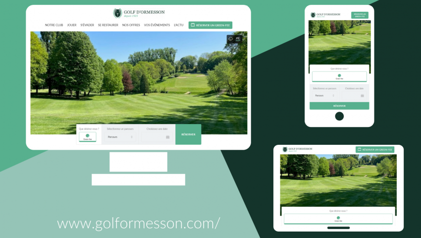 The Golf d'Ormesson Website has a new look! - Open Golf Club