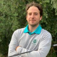 Grégoire Berta, enseignant de golf et diplômé d'Etat, au Golf d'Ormesson à 15 minutes de Paris