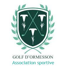 Logo de l'Association Sportive du Golf d'Ormesson dans le Val-de-Marne à 15 minutes de Paris; un parcours 18-trous exigeant et de qualité